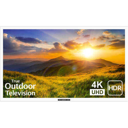 "SunBriteTV SB-S2-43-4K-WH Signature 2 Series 4K Ultra HD Partial Sun Outdoor TV - 43"" (White)"