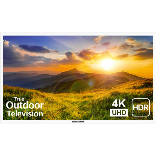 "SunBriteTV SB-S2-55-4K-WH 55"" Signature Series 2 4K Ultra HD Partial Sun Outdoor TV - White"