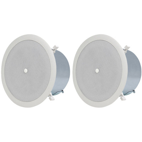 "Atlas™ FAP62T-UL2043 6"" Coaxial Speaker System with 70.7/100V-32W Transformer and 8Ω Bypass (Pair 
