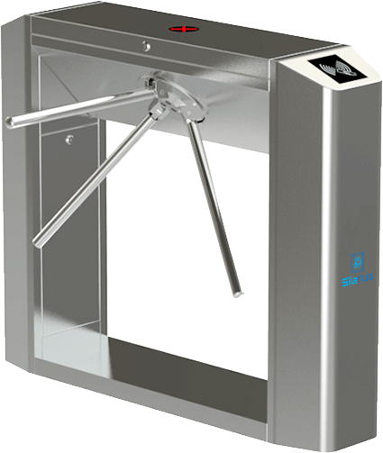 Silarius SIL-TURNSTILE3ARMSS Smart Turnstiles Device - Stainless Steel