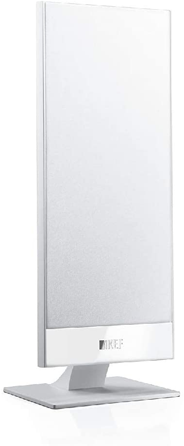 KEF T101-WHITE Ultrathin On-Wall Speaker - White (Pair)