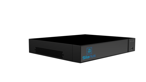 Silarius Pro Series SIL-NVRAI16 36-Channels 4K AI NVR Gigabit 12MP Face Recognition, No HDD
