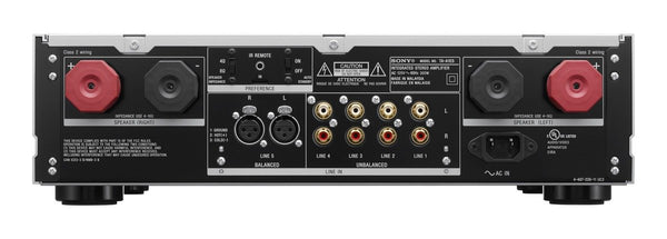 Sony TAA1ES High-Resolution Audio Stereo Amplifier