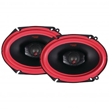 "Cerwin-Vega V468 Vega Series 2-Way Coaxial Speakers (6"" x 8"", 400 Watts max)"