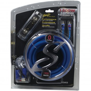 Stinger SSK0 Kit with Ultra-Flexible Copper-Clad Aluminum Cables (0 Gauge)