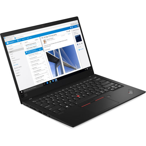 Lenovo 20QD000DUS ThinkPad X1 Carbon Laptop (Gen 7, Black Paint)