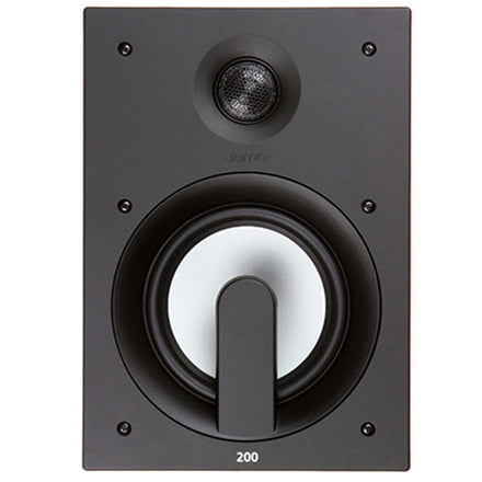 "Jamo® 1016279 IW 206 FG 6.5"" 2-Way In-Wall Loudspeaker (White 