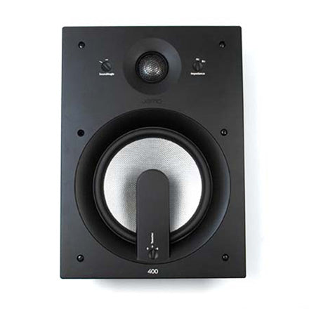 "Jamo 93921 IW 408 FG 8"" 2-Way In-Wall Speaker w/ SoundAngle™ White"