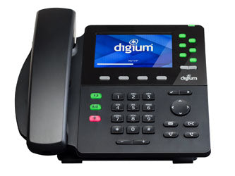 Digium 1TELD062LF D62 2-Line Gigabit IP Phone w/o power supply