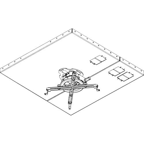 Peerless-AV PRGS-455 Projector Mount Kit (White)