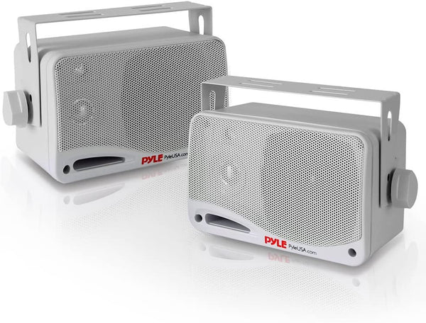 "Pyle PDWR42WBT 3.5"" 200W 3Way Indoor/Outdoor Bluetooth Home Speaker System"