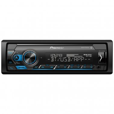 Pioneer MVH-S320BT Single-DIN In-Dash Digital Media Receiver with Bluetooth