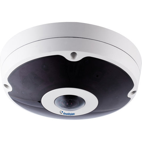 Geovision GV-FER5701 5MP Outdoor Network Fisheye Dome Camera with Night Vision