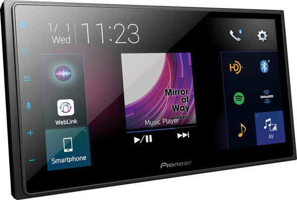 Pioneer DMH-2600NEX Digital Multimedia Receiver Bluetooth®, Apple CarPlay™