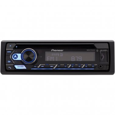 Pioneer DEH-S5200BT Single-DIN In-Dash CD Player with Bluetooth®
