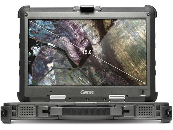 "Getac X500G2BLURAY512 TAA, Intel Core i7-4610M,3.0GHZ,15.6"" w/ DVD"