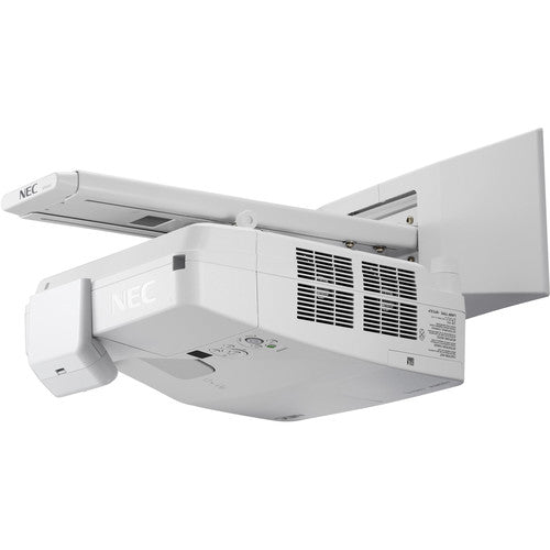 NEC NP-UM361X-WK 3600 Lumen XGA Ultra-Short Throw LCD Projector with Wall-Mount