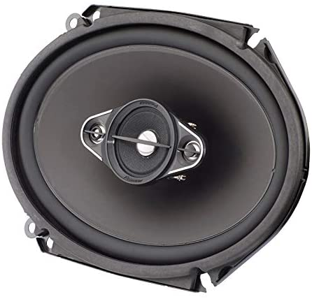 "Pioneer TS-A6880F A-Series Coaxial Speaker System (4 Way, 6"" x 8"")"