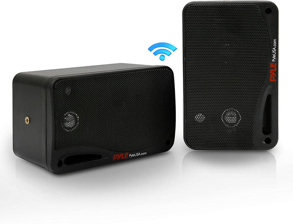 "Pyle PDWR42BBT 3.5"" 200W 3Way Indoor/Outdoor Bluetooth Home Speaker Syst"