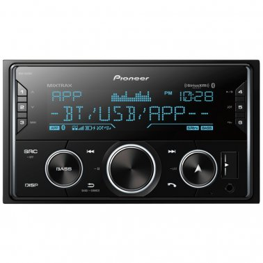 Pioneer MVH-S620BS Double-DIN Digital Media Receiver w/ Bluetooth & SiriusXM