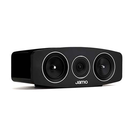 Jamo 106088 C10 Concert Series Flagship 2-Way Center Speaker High Gloss Black(Ea