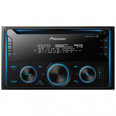 Pioneer FH-S520BT Double-DIN In-Dash CD Receiver with Bluetooth®