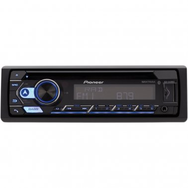 Pioneer DEH-S4200BT Single-DIN In-Dash CD Player with Bluetooth®