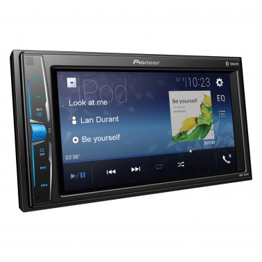 "Pioneer DMH-220EX 6.2"" Double-DIN Digital Multimedia Receiver w Bluetooth"