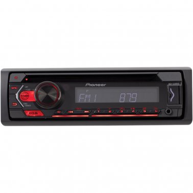 Pioneer DEH-S1200UB Single-DIN In-Dash CD Player with USB Port