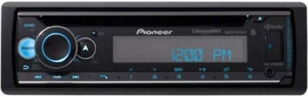 Pioneer DEH-S7200BHS Single-DIN CD Receiver w/ Bluetooth,HD Radio,SiriusXM