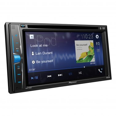 "Pioneer AVH-220EX 6.2"" Double-DIN In-Dash Multimedia DVD Receiver with Bluetooth"