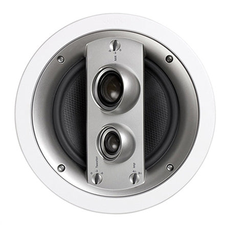 "Jamo® 93933 IC 608 LCR FG 8"" 3-Way In-Ceiling LCR Loudspeaker (White 