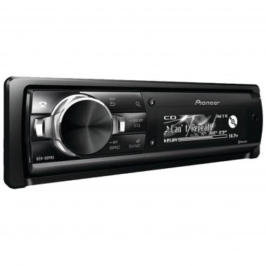 Pioneer DEH-80PRS Single-DIN In-Dash CD Receiver with Bluetooth®