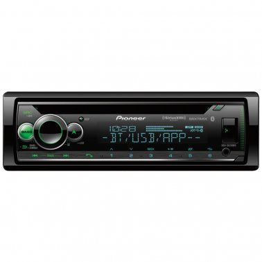 Pioneer DEH-S6200BS Single-DIN In-Dash CD Player w/ Bluetooth and SiriusXM Ready