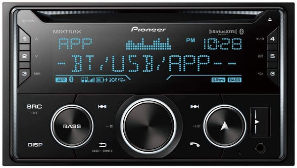 Pioneer FH-S720BS Double-DIN In-Dash CD Receiver w/ Bluetooth and SiriusXM Ready