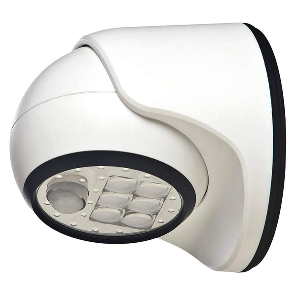 Light IT! 20031-108 Wireless LED Porch Light, 100 Lumens (White)