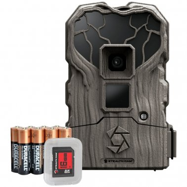 Stealth Cam STC-QS24NGKX 14.0-Megapixel NO GLO Trail Camera Combo