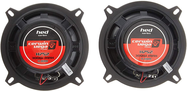 "Cerwin-Vega H752 HED® Series 2-Way Coaxial Speakers (5.25"", 300 Watts max)"