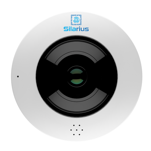 Silarius Pro Series SILF12MP 12MP Fisheye Camera 360 Degrees