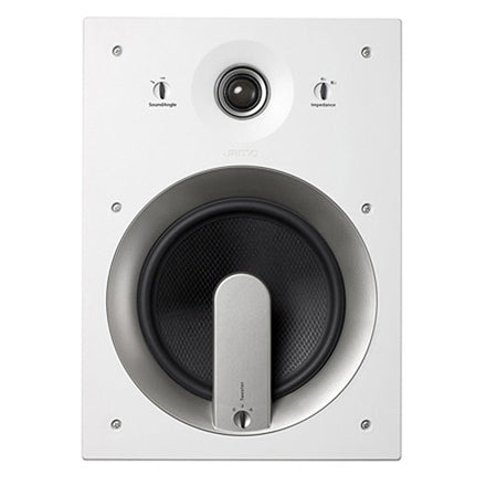 "Jamo® 93927 IW 608 FG 8"" 2-Way In-Wall Loudspeaker (White 