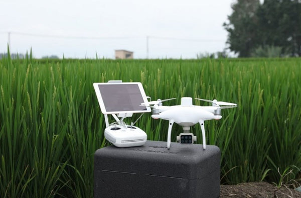 DJI P4 Multispectral Agriculture Drone with D-RTK 2 Mobile Base Station