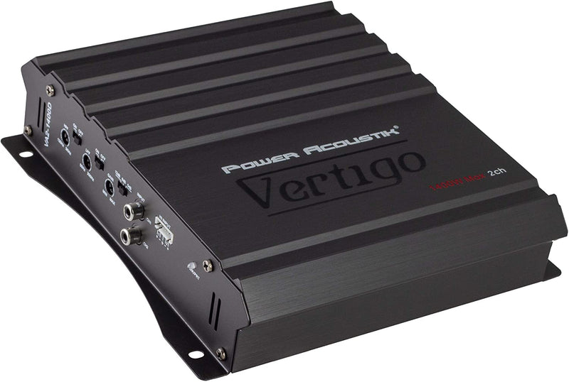Power Acoustik VA2-1400D 1400W 2ch Class A/B Amplifier