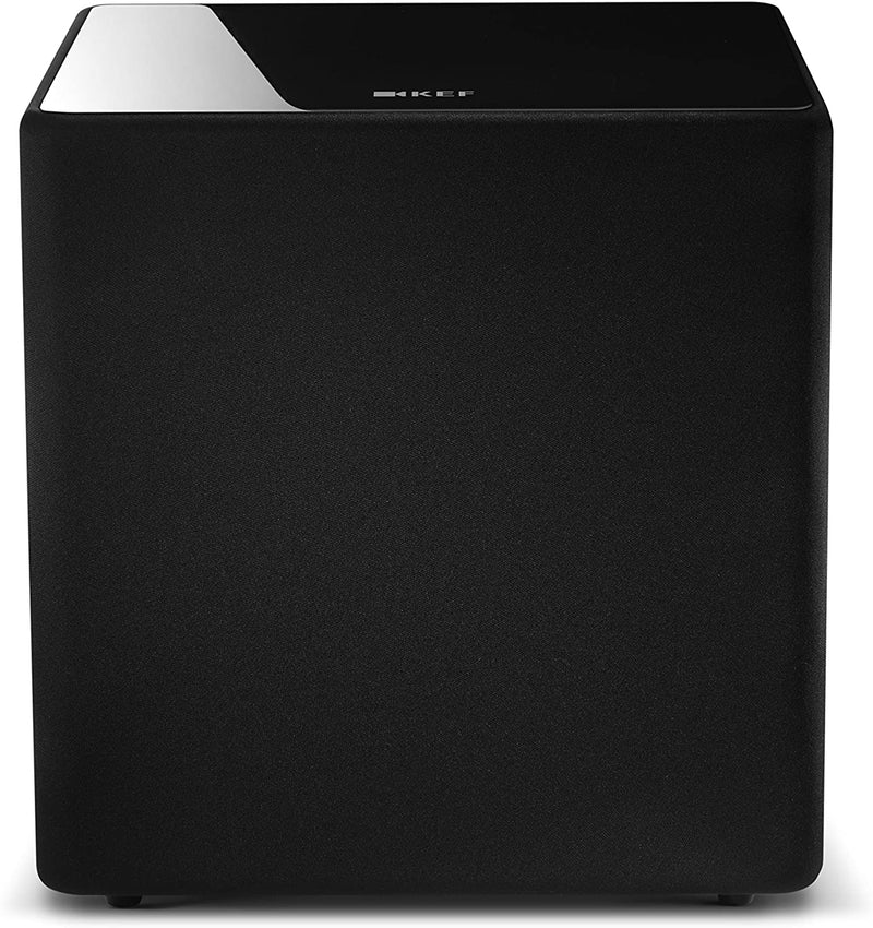 "KEF KUBE 10B 10"" 300W Powered Subwoofer - Black"