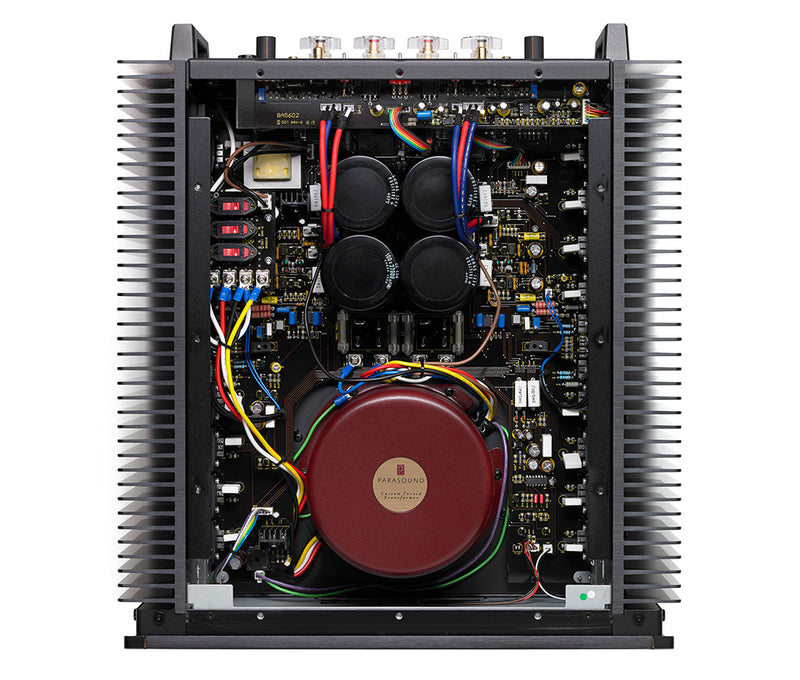 Parasound A21P-BL Halo Series A 21+ Stereo Power Amplifier | 500W x 2 Channels