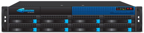 Barracuda Backup Server 891 with 10 Gbe Fiber - BBS891A