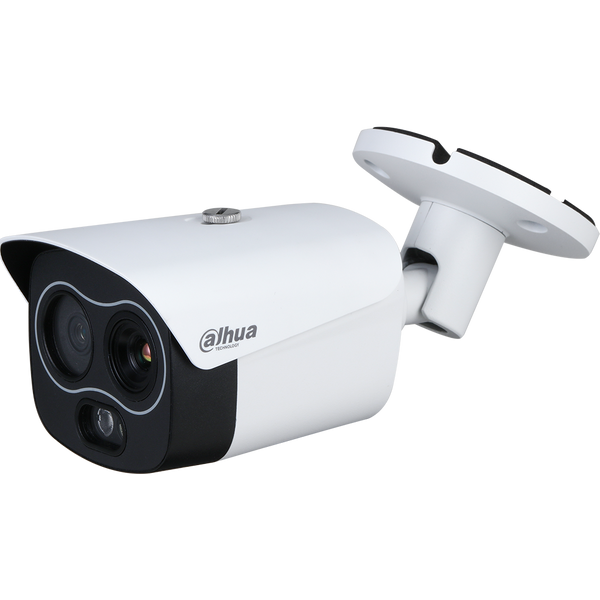 Dahua DH-TPC-BF1241N-D7F8 256 x 192 Hybrid Thermal Network Bullet Camera , 7mm, Visible-light 8mm