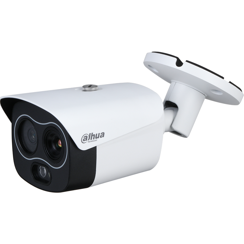 Dahua DH-TPC-BF1241N-D3F4 256 x 192 Hybrid Thermal Network Bullet Camera , 3.5mm, Visible-light 4mm
