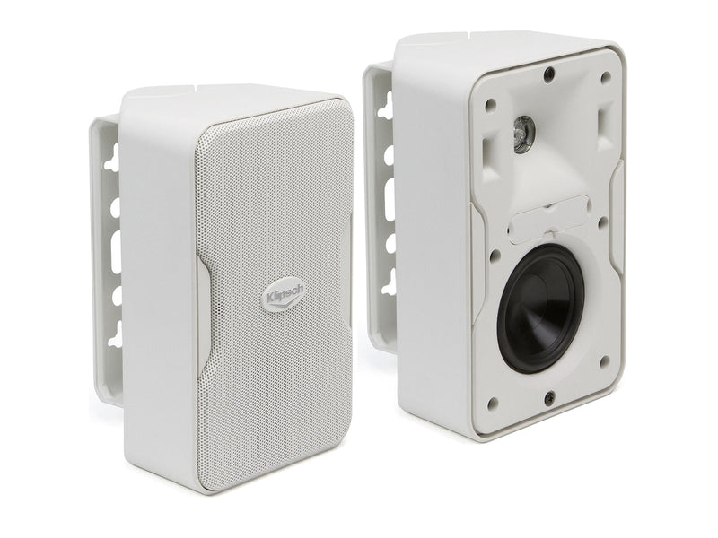 "Klipsch CP-4T 3.5"" 2-Way Compact Full-Range Speaker White"