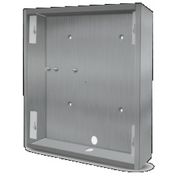 DoorBird D21XKH BACKBOX STAINLESS Surface Mounting Backbox- Stainless