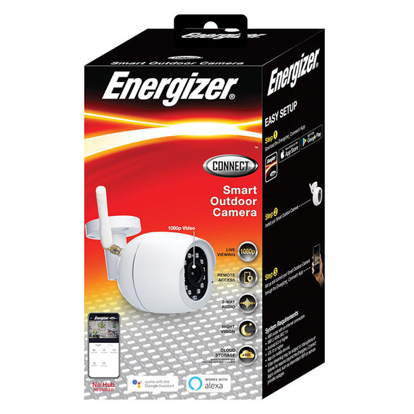 Energizer® Connect EOXA-1002-WHT Smart 1080p Outdoor Camera